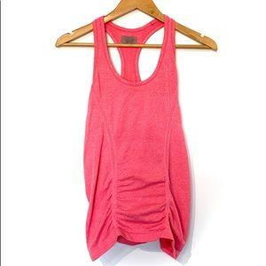 Athleta seamless hot pink tank top running gym